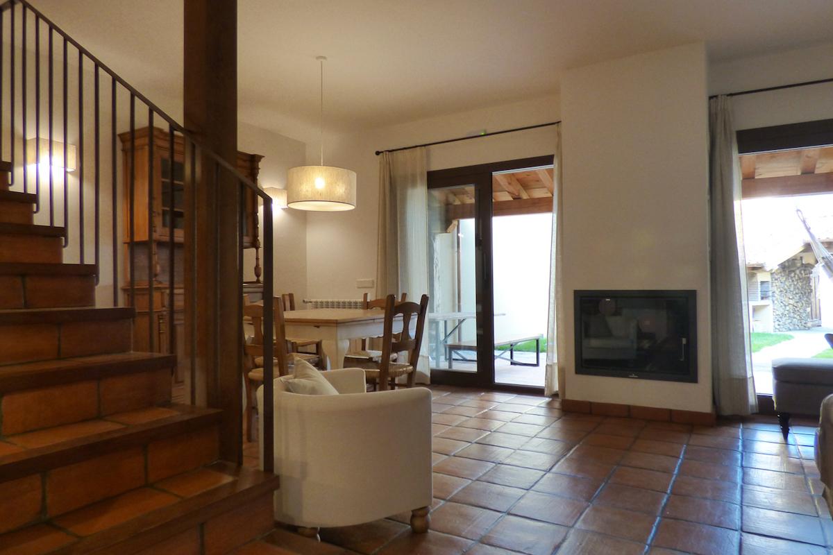 Casa Rural Fuentebuena - Salón y sala de estar